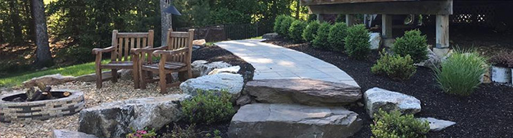 NH Hardscaping: Paver Patios and Fire Pits